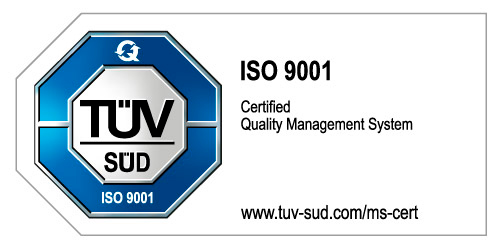 OPTIMAL certified in accordance with the new ISO 9001:2015
